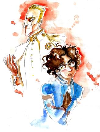 Thorn et Ophélie dans leurs versions babéliennes