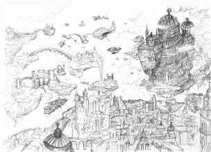 Babel crayonné