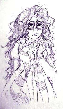 Ophélie crayon